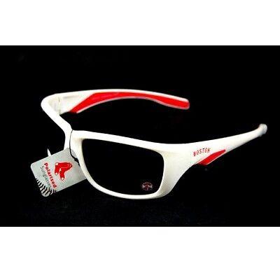 Boston Red Sox Frame (BOSTON RED SOX SUNGLASSES POLARIZED WHITE FRAME MLB UV 400 PROTECTION NEW NWT )