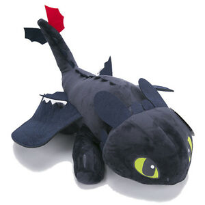 How to Train Your Dragon Plush Toothless Night Fury Soft Toy Doll Teddy 10