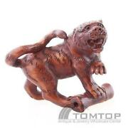 Carved Wood Tiger