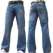 Mens Jeans 34 Waist Bootcut