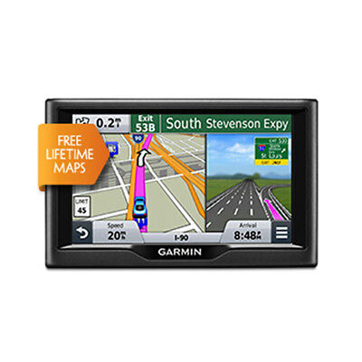 Garmin Nuvi 68Lm 6  Touch Screen Gps W   Free Lifetime Map Updates