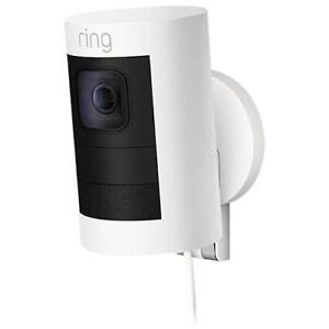 Ring Stick Up Cam Wired Indoor/Outdoor 1080p HD IP Camera - White NEW SEALED FLAT $169