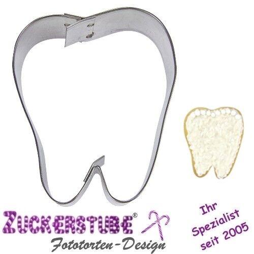 ♥ Ausstechform Zahn ♥ 6 cm ♥ Ausstecher ♥ Edelstahl ♥
