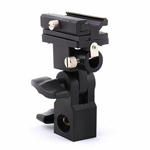 Universal Umbrella Holder Camera Flash Mount Bracket Light Stand for Canon Nikon