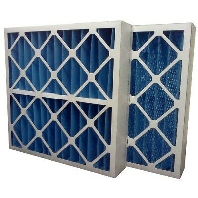 (6) Filters 16x25x4 MERV 8 Furnace Air Conditioner Filter - Made in USA ()