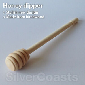 Wooden-Honey-Dipper-Drizzler-Spoon-Made-by-high-quality-birchwood-UK-seller