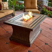 Fire Pit with Porcelain Table Top