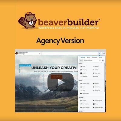 Beaver Builder Plugin Agency Version - Wordpress Plugins And Themes