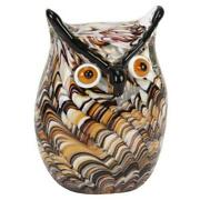 Glass Owl Paperweight