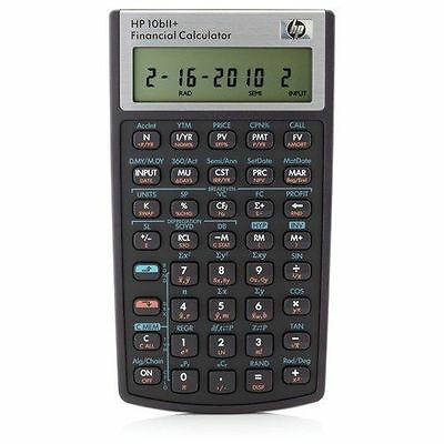 HP 10bII NW239AA-ABA Financial Calculator
