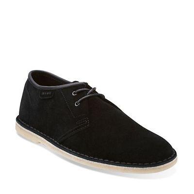 Clarks Casual Oxford (Clarks Originals Jink Men's Casual Oxford Shoes Black Suede 26105215)
