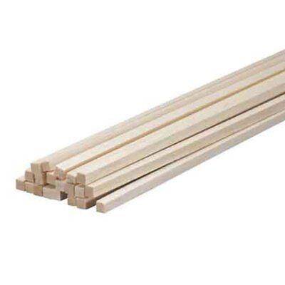 Balsa Wood 1/4 X 1/4 X 36in (10) BWS1075