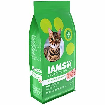 Iams PROACTIVE HEALTH OPTIMAL METABOLISM Dry Cat Food 3.5 Pounds for sale  USA