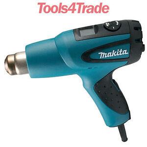 Makita HG651CK Corded Heat Gun Digital Variable Heat Settings 2000 Watt 240V
