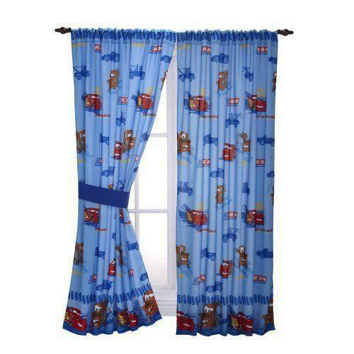 Disney Cars Window Curtains Ebay