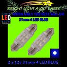 Blue 12V Globe Bulbs LED Lights