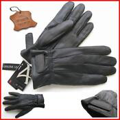 Mens Leather Gloves Thinsulate