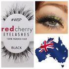 Red Cherry Black Eye Makeup
