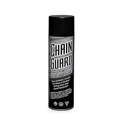 (Maxima 77908 Synthetic Crystal Clear Chain Lube Chain Guard - 6oz)