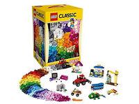BOX OF LEGO CLASSIC XXL-NEW-1500 PIECES
