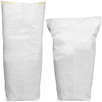 4 x 60L Peel & Seal Paper Sack / Shredded Paper Waste / Confidential Documents /