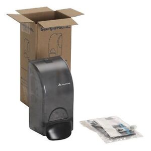georgia pacific 53053 smoke commercial manual soap and sanitizer dispenser