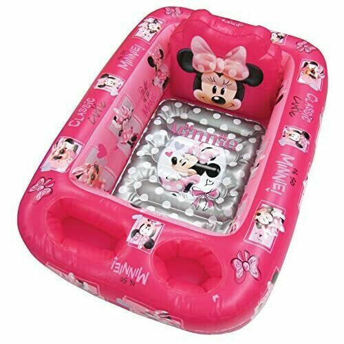 Infant Disney Inflatable Safety Baby Bath Tub Minnie Mouse Pink