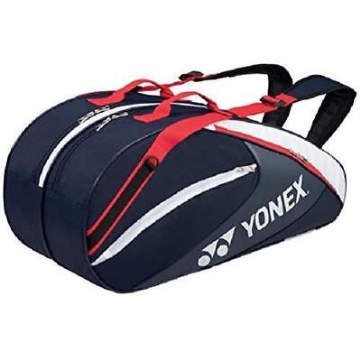 YONEX Tennis Racket Bag 6 Backpack with BAG 1732R Navy Blue Red From Japan 77cb4bb2a06cd