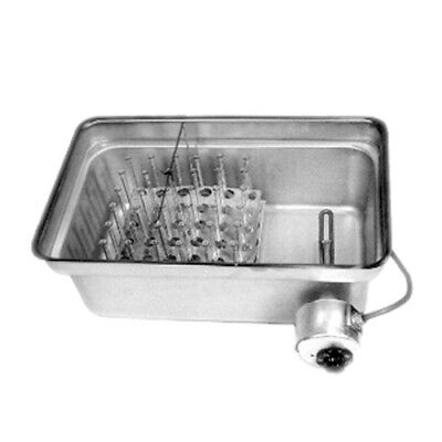 Laboratory Water Bath With Rack And Shield Stainless Steel 36 Bottle Capacity