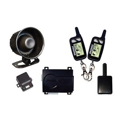 Omega K9ECLIPSE2 Car Alarm K9 With (2)2-Way LCD Remotes (Remote-65101)