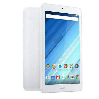 """ACER Iconia One B1-850 8"""" Tablet 16GB Storage 1GB RAM White Android Wifi only"""