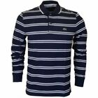Lacoste Long Sleeve Striped Casual Shirts for Men