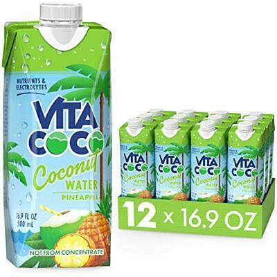 Coconut Water Pineapple Naturally Hydrating Electrolyte Drink Smart Alternative
