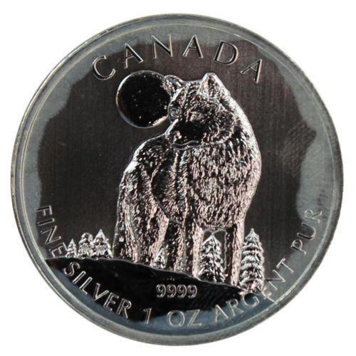 2011 Canadian Silver Wolf Ebay