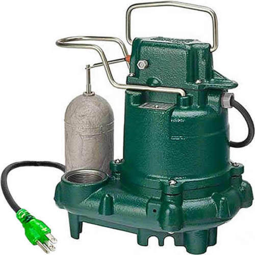 Zoeller M63 PREMIUM SERIES 5 Year Warranty Mighty-mate Submersible Sump Pump