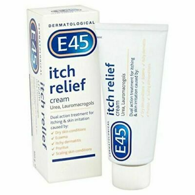E45 Dermatological Itch Relief Cream, 100 g Free P&P
