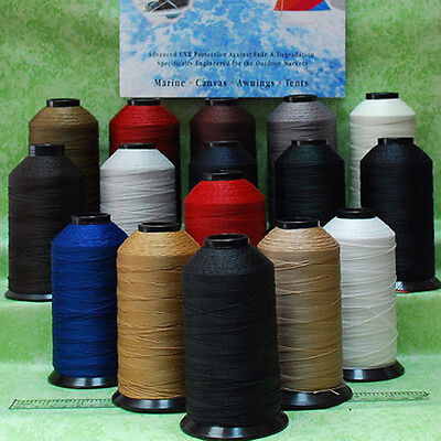 Bonded #277 T270  Nylon sewing Thread for Upholstery outdoor leather canvas -