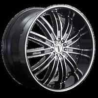 NEW! BLACK MACH 20 rim/tire JOURNEY a4 a5 a6 BMW 350z g35 370