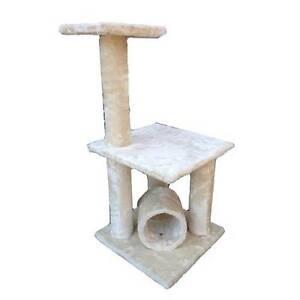 Brand New Plush Cat Scratching Tree Pole Post 86cm ALCT-024 cream Keysborough Greater Dandenong Preview