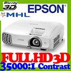 Epson 16:9 HDMI Home Video Projectors