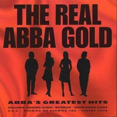 Various : The Real Abba Gold:: ABBA'S GREATEST HITS CD (2008)
