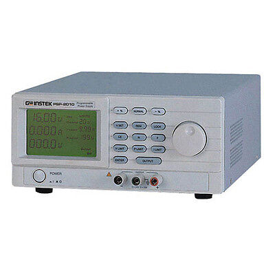 Instek Psp-2010 Programmable Dc Power Supply 20v10a
