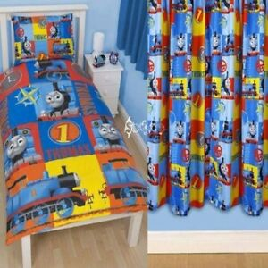 Thomas The Tank Engine Power Single Duvet And Matching