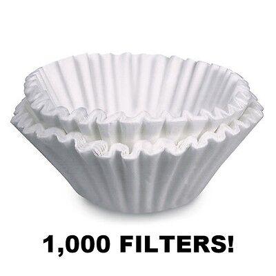 White Commercial Coffee Maker (Bunn Brewrite Regular Coffee Maker Filters 12 Cup Commercial White 1000 ct)