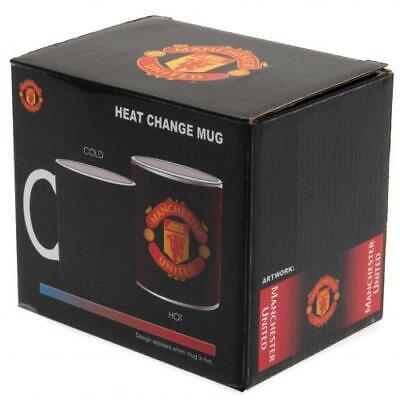 Manchester United FC Gradient Heat Changing Ceramic Tea Coffee Mug Xmas Gift New United Fc Mug