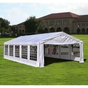 32x20 Brand New Wedding Party Event Tent For Sale. Galvanized Steel Frame. Save Up to 50% Off