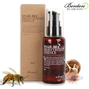 BENTON-Snail-Bee-High-Content-Essence-60ml-Whitening-Aloe