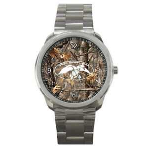 CAMO-DUCK-DYNASTY-COMMANDER-Uncle-Si-Robertson-Hey-Jack-Metal-Watches