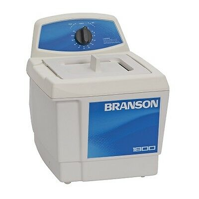 Branson M1800 0.5 Gallon Ultrasonic Cleaner W Mechanical Timer Cpx-952-116r New
