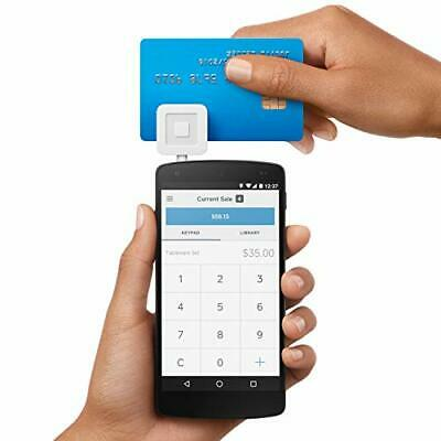 Credit Card Reader Square Swiper For Iphone Smartphone Tablet Ios Android New